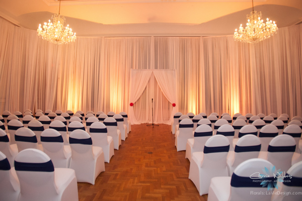 la-vie-en-rose-pink-fuschia-ceremony-navy-white-wedding-renaissance-vinoy-st.pete-florida-museum-of-fine-arts