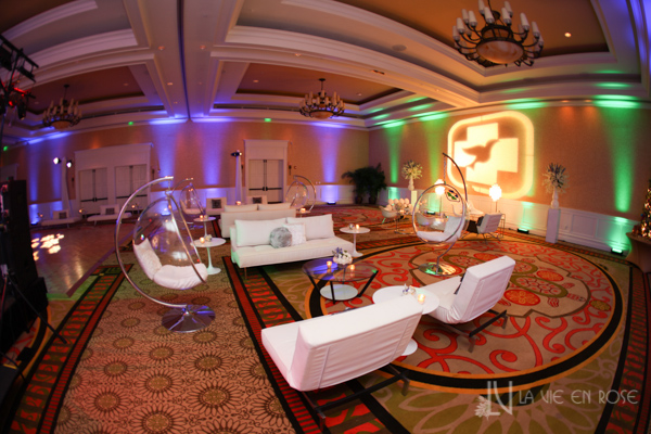 la-vie-en-rose-white-green-purple-chaise-side-table-bubble-sofa-lounge-furniture-pin-lighting-corporate-party-sandpearl-resort-clearwater-florida-