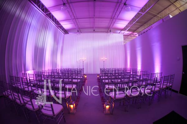 la-vie-en-rose-ceremony-lanterns-crystal-candelabra-silver-chiavari-chairs-wedding-purple-venue-tampa-florida