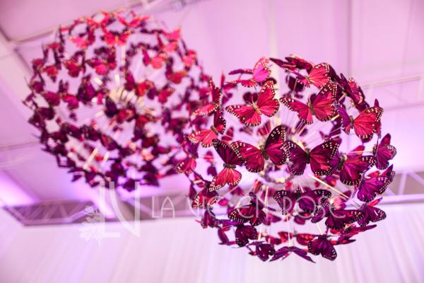 la-vie-en-rose-reception-chandelier-butterfly-wedding-purple-venue-tampa-florida