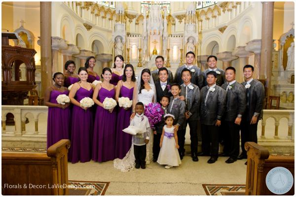 la-vie-en-rose-orchid-filipino-boutonnieres-groomsmen-bridal-party-bride-groom-phalaenopsis-vanda-sacred -heart-cuban-club-tampa-florida