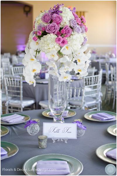la-vie-en-rose-centerpiece-guest-table-phalaenopsis-orchid-white-hydrangea-reception-purple-cuban-club-tampa-florida