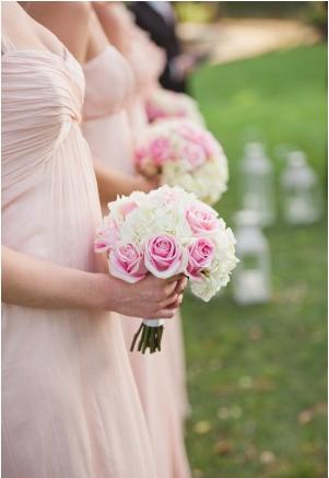 la-vie-en-rose-wedding-white-brides-maids-bouquet-pink-innisbrook-resort-and-golf-club-palm-harbor -florida