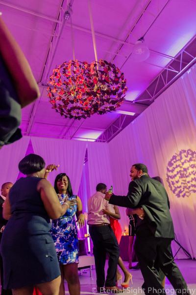 la-vie-en-rose-dance-floor-pin-light-butterfly-chandelier-drape-wedding-purple-venue-tampa-florida