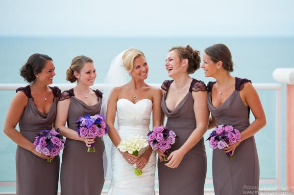 la-vie-en-rose-purple-lavender-bouquet-bridal-calla-lily-bride-maid-bridal-party-ceremony-hyatt-clearwater-beach-florida