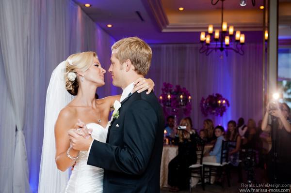 la-vie-en-rose-reception-candle-bride-groom-hyatt-clearwater-beach-florida