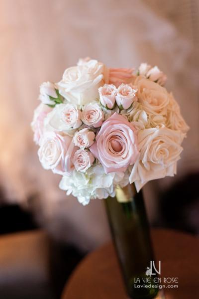 la-vie-en-rose-brides-maids-bouquet-sprayroses-roses-hilton-downtown-tampa-florida