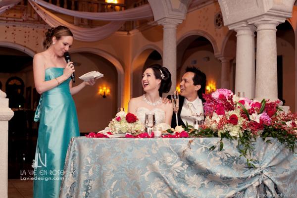 la-vie-en-sweetheart-table-speech-bride-groom-reception-avila-golf-and-country-club-tampa-florida