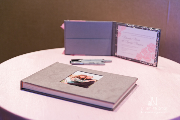 la-vie-en-rose-wedding-guest-book-hilton-downtown-tampa-florida