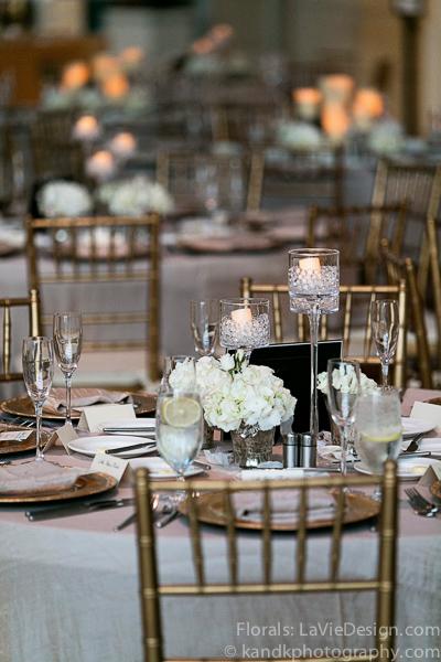 la-vie-en-rose-wedding-reception-floating-candle-centerpiece-museum-of-art-tampa-florida