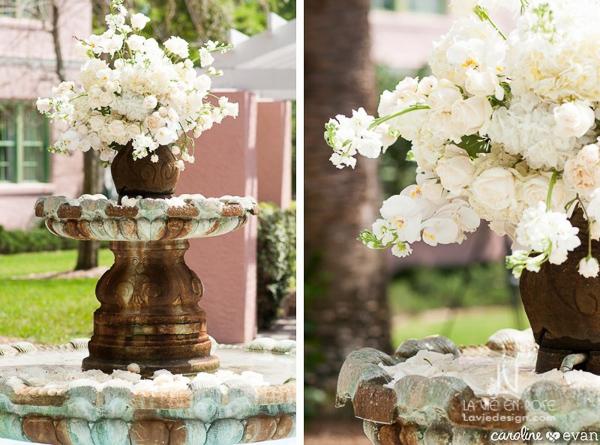 la-vie-en-rose-wedding-ceremony-flowers-fountain-vinoy-st-petersburg-florida