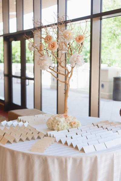 la-vie-en-rose-wedding-card-table-tree-bloom-reception-cocktail-hour-carillon-hilton-hotel-st-petersburg-florida
