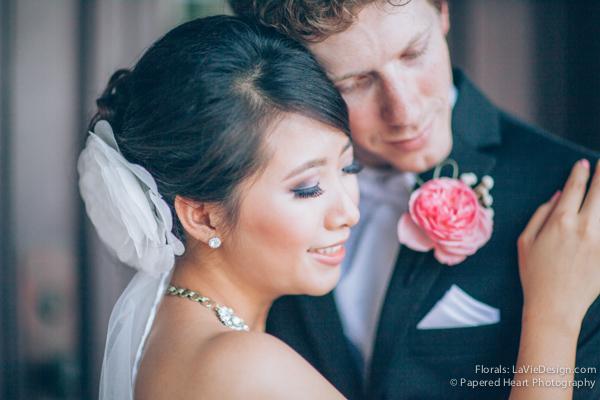 la-vie-en-rose-wedding-bride-groom-boutonniere-university-of-tampa-downtown-florida