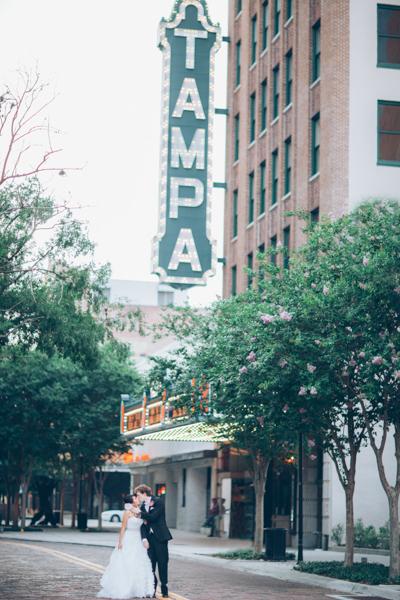 la-vie-en-rose-wedding-bride-groom-tampa-theater-downtown-florida