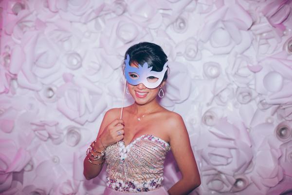 la-vie-en-rose-wedding-reception-masquerade-bride-flowers-the-vault-downtown-tampa-florida