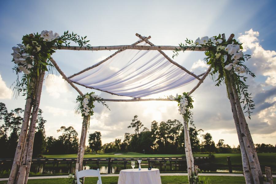 la-vie-en-rose-wedding-reception-ceremony-aisle-lanterns-tree-decor-entrance-orchids-huppah-chuppah-jewish-nature-outdoor-scene-elegant-romantic-love-happily-ever-after-orlando-waldorf-astoria