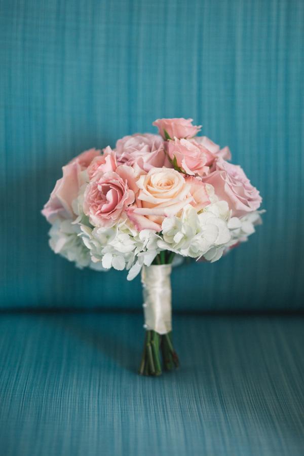 la-vie-en-rose-tampa-bay-saint-petersburg-wedding-hotel-bridesmaids-dress-bouquet-roses-pink-blush-purple-coral-hydrangea-ivory-wrap-ribbon-romantic-elegant-the-vinoy