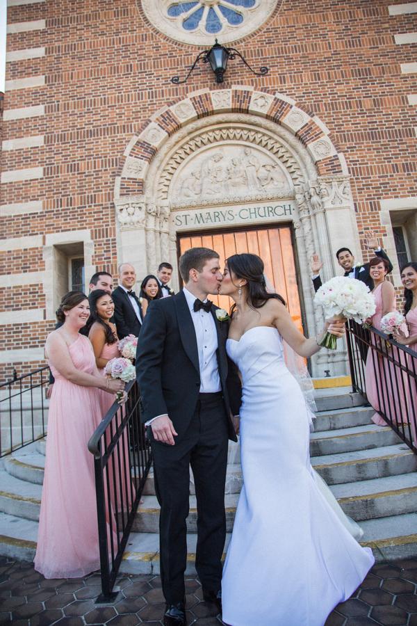 la-vie-en-rose-tampa-bay-saint-petersburg-wedding-hotel-bridal-party-bride-and-groom-bridesmaids-groomsmen-peonies-garden-roses-wedding-dress-romantic-elegant-the-vinoy
