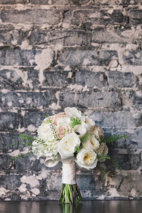 la-vie-en-rose-wedding-reception-ceremony-downtown-tampa-bay-bridal-bouquet-floral-arrangements-white-roses-berries-greenery-anemones-blush-ivory-peonies-garden-rose-elegant-romantic-love-happily-ever-after-the-oxford-exchange