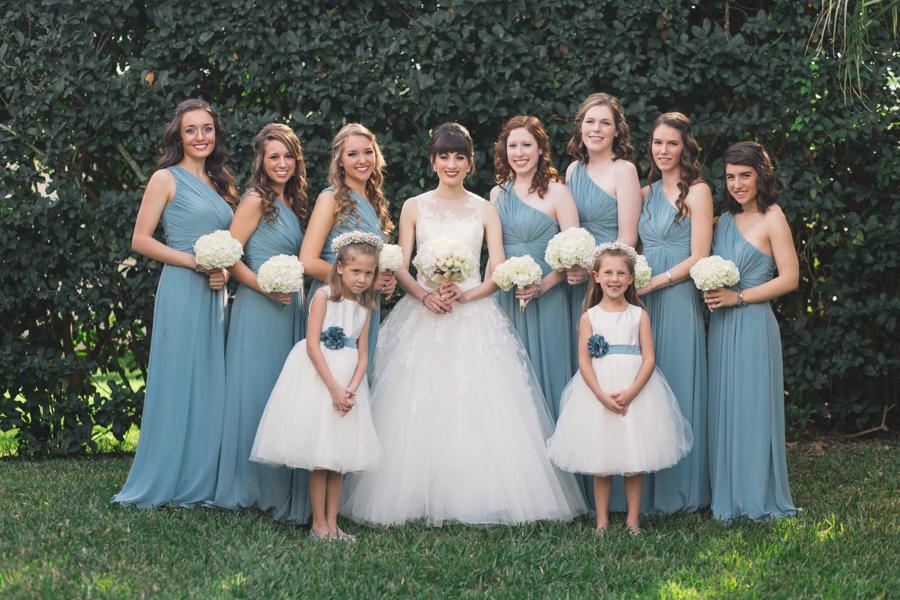 la-vie-en-rose-tampa-bay-Clearwater-wedding-dress-bridesmaids-flower-girl-halo-lace-bride-bridal-bouquet-peonies-garden-roses-blush-white-ivory-ribbon-elegant-Ruth-Eckerd-Hall