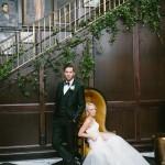 Liz & Caleb's Wedding at The Oxford Exchange