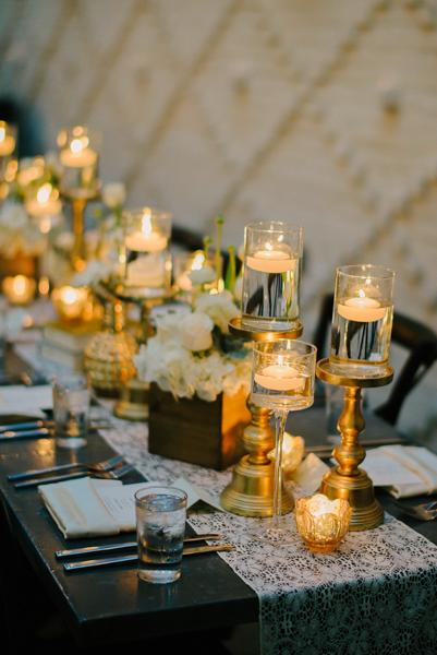 La-vie-en-rose-tampa-florida-wedding-reception-white-runner-ivory-gold-garden-flower-elegant-oxford-exchange
