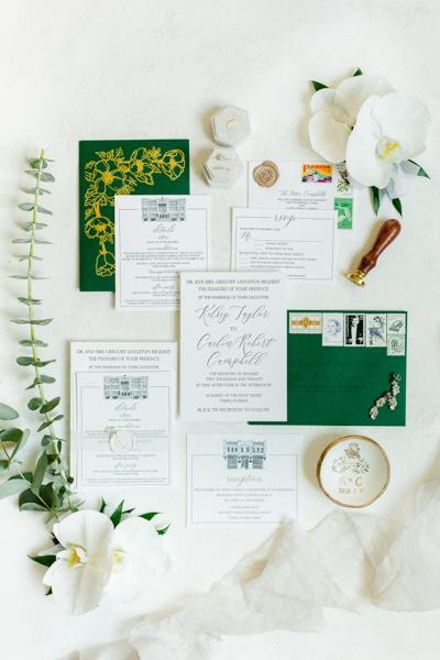 La-vie-en-rose-tampa-florida-wedding-white-orchid-flower-eucalyptus-bouquet-elegant-oxford-exchange
