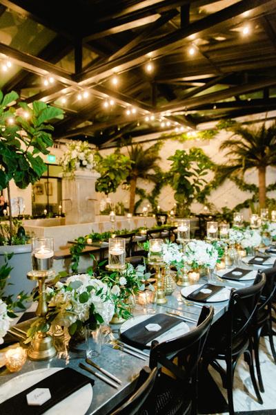 La-vie-en-rose-tampa-florida-wedding-white-garden-flower-eucalyptus-reception-garland-elegant-oxford-exchange