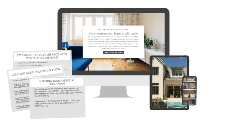 Computer Access to Guide to Get Your Home Ready to Sale