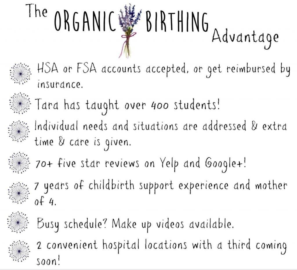 Organic Birthing Advantage