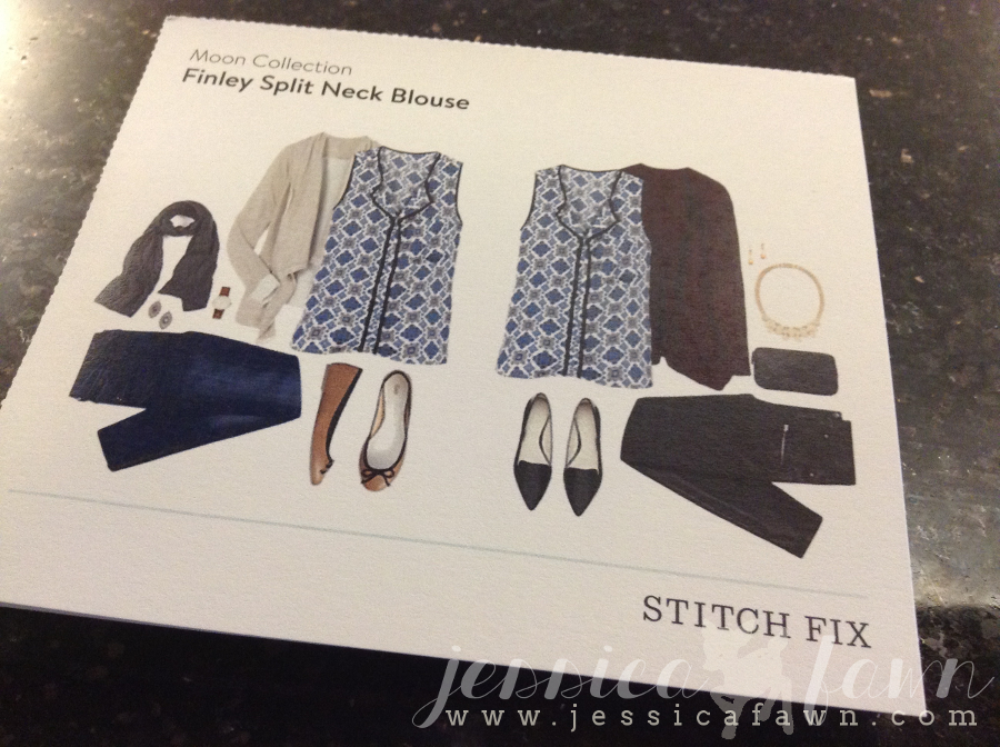Moon Collection Finley Split Neck Blouse card | JessicaFawn.com