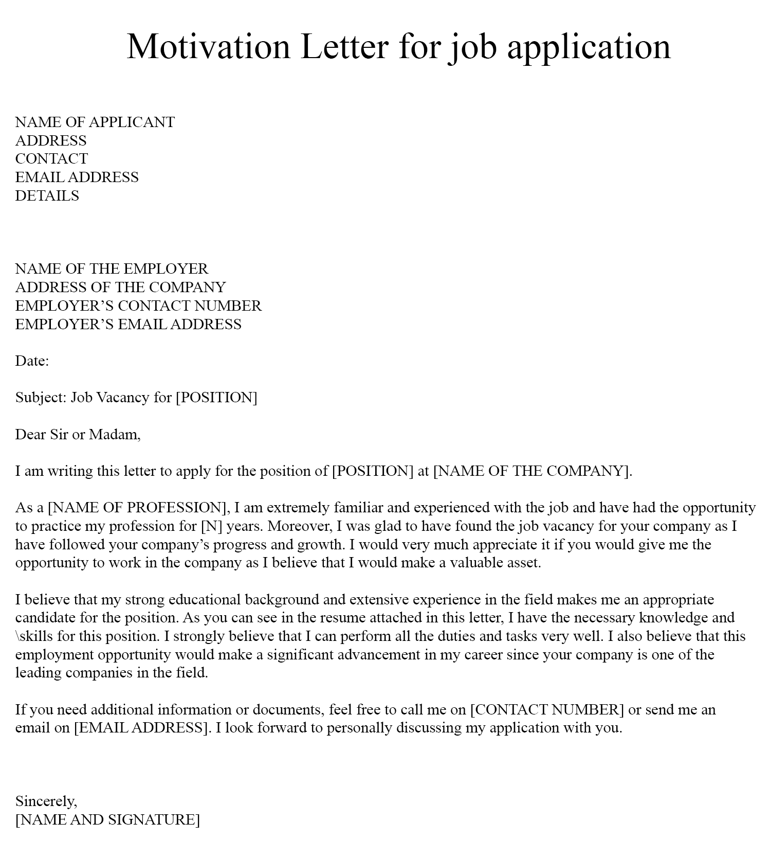 Letter Of Aplication For A Job from secureservercdn.net