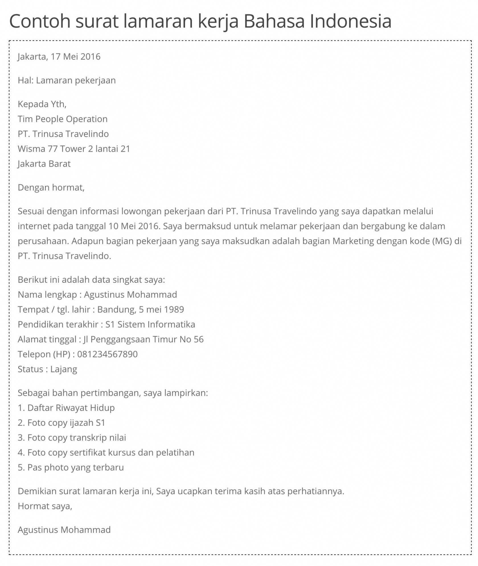 Irresistible curriculum vitae dalam bahasa indonesia Perbedaan Resume Cover Letter dan Curriculum Vitae