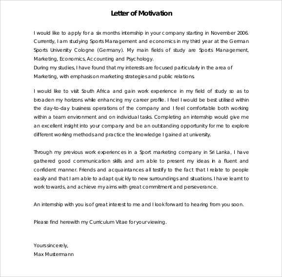 motivation-letter-sample