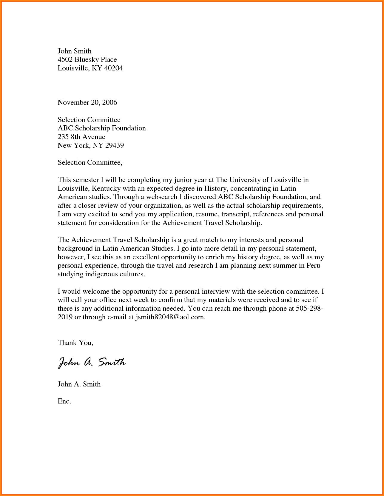 MBA Motivation Letter Sample PDF