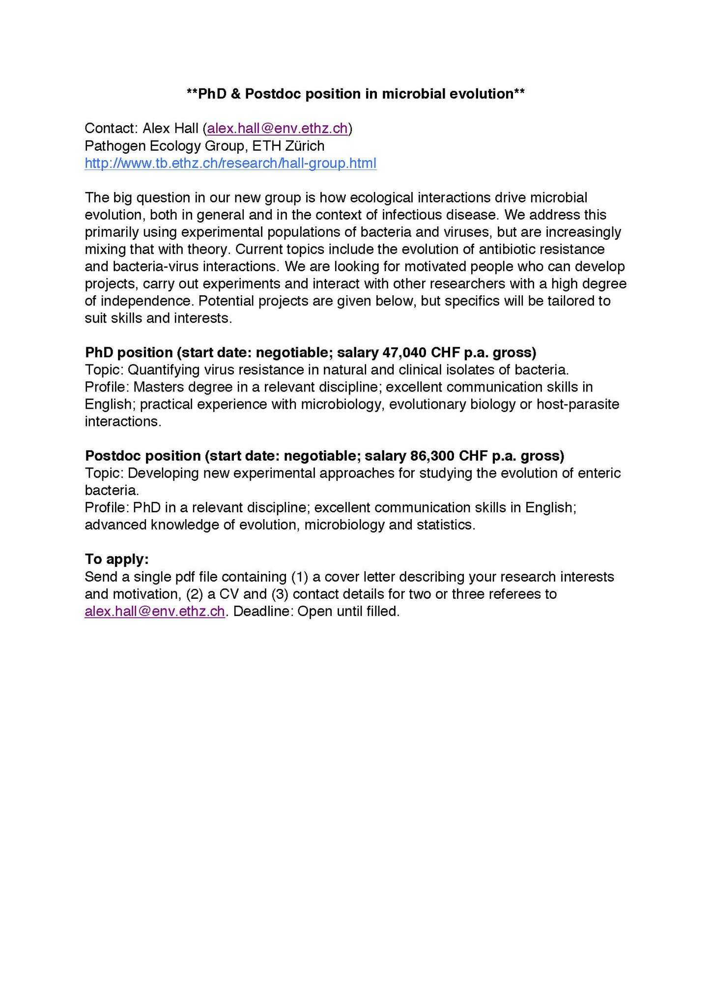 Phd Motivation Letter Sample PDF