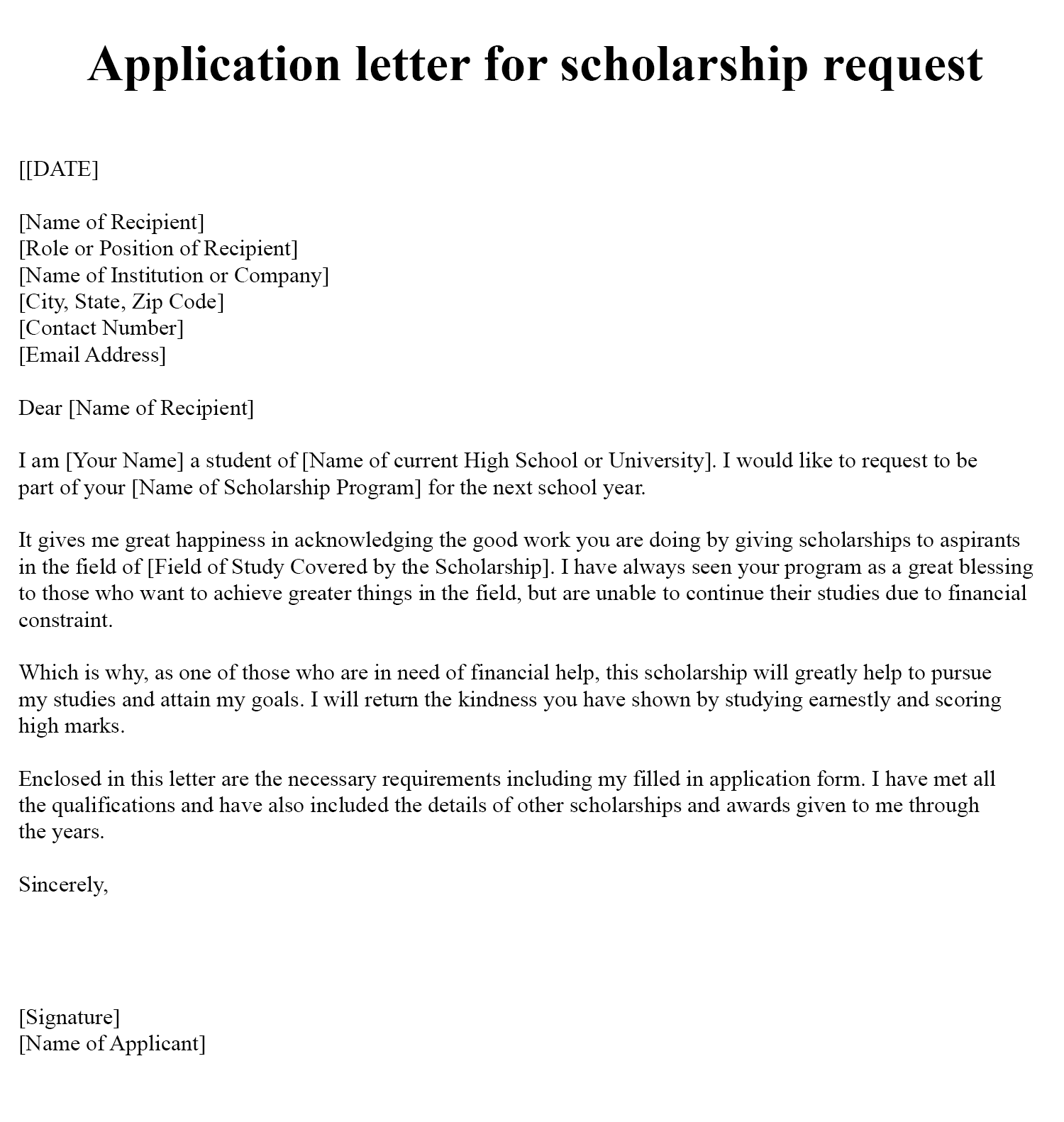 Application-letter-for-scholarship-request