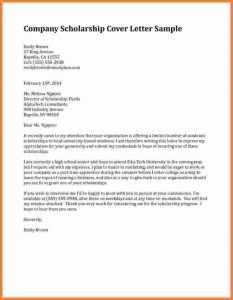 Motivation Letter for Scholarship Sample Doc Printable