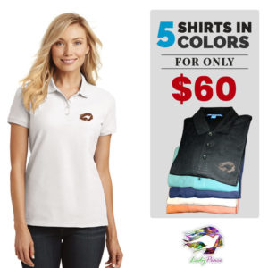 Women's Polo 5 in 1 promo