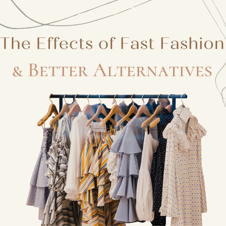 The Effects of Fast Fashion