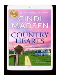 Country Hearts Cindi Madsen Mockup