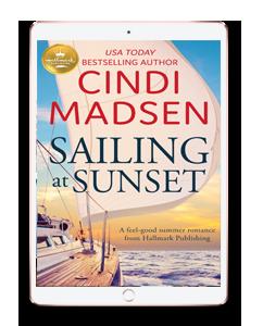 sailing at sunset rosegold-ipad