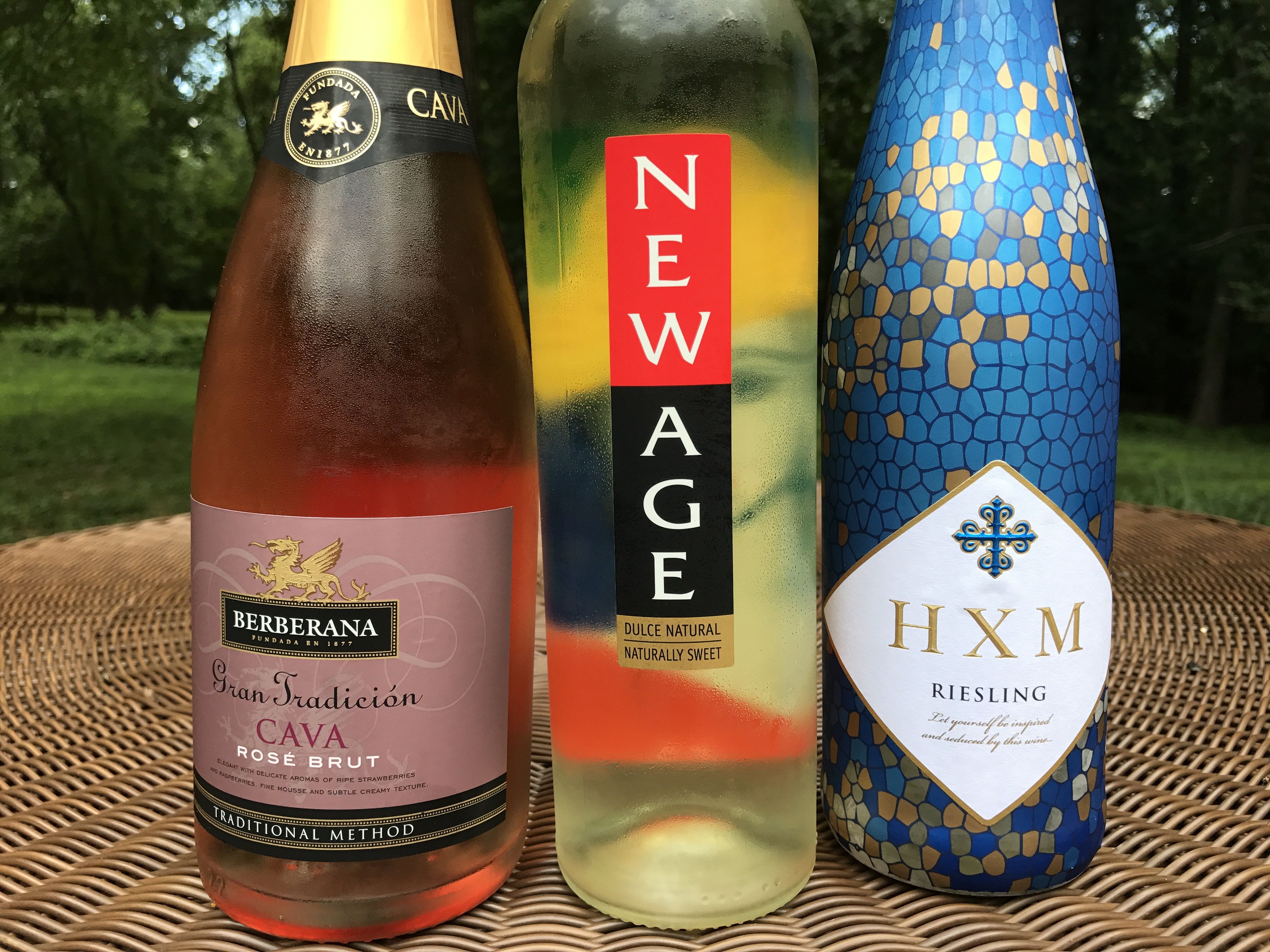 Red White and Blue Wines for the 4th of July