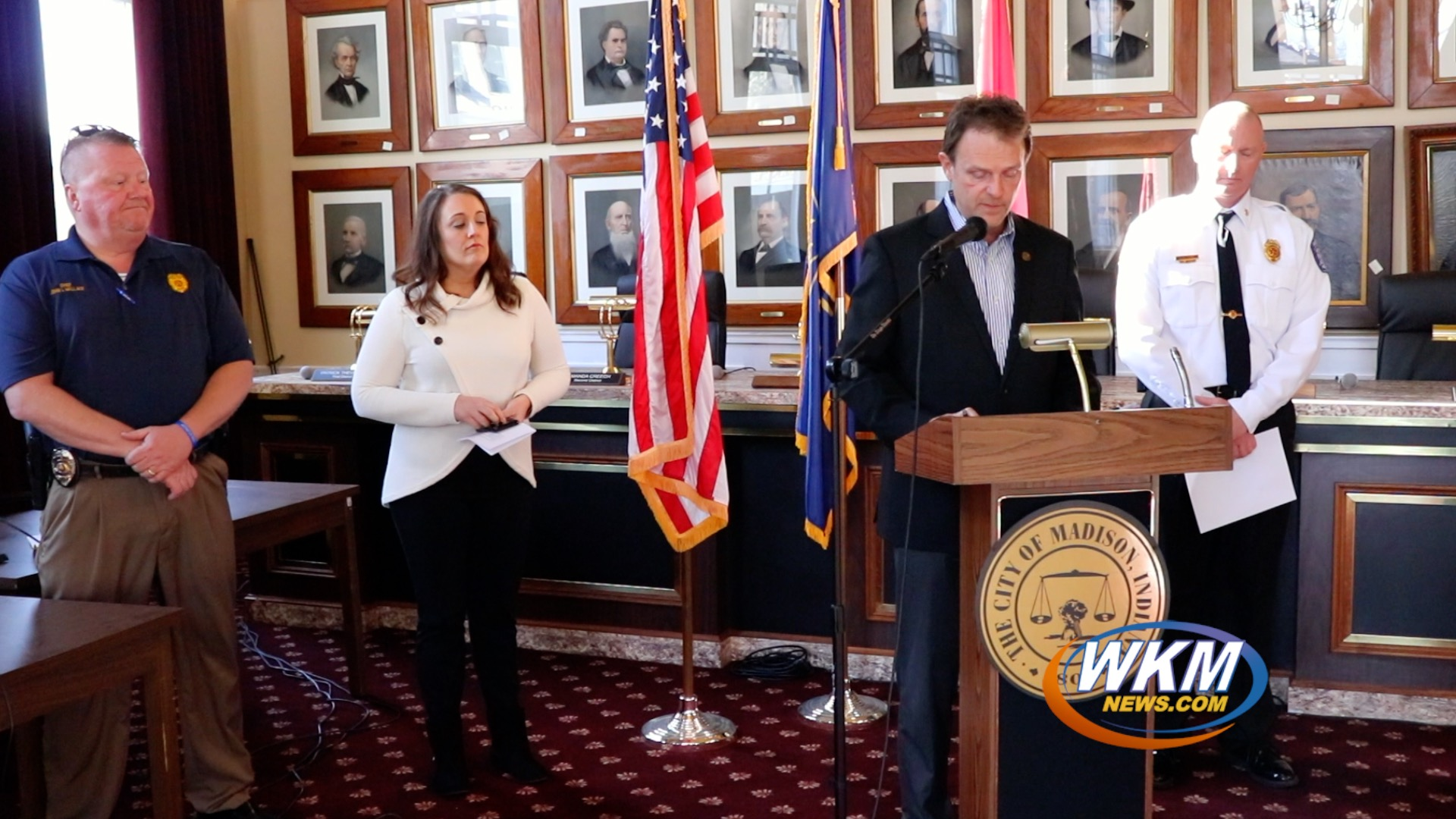 City Officials Address Stay-At-Home Order; Social Distancing Importance