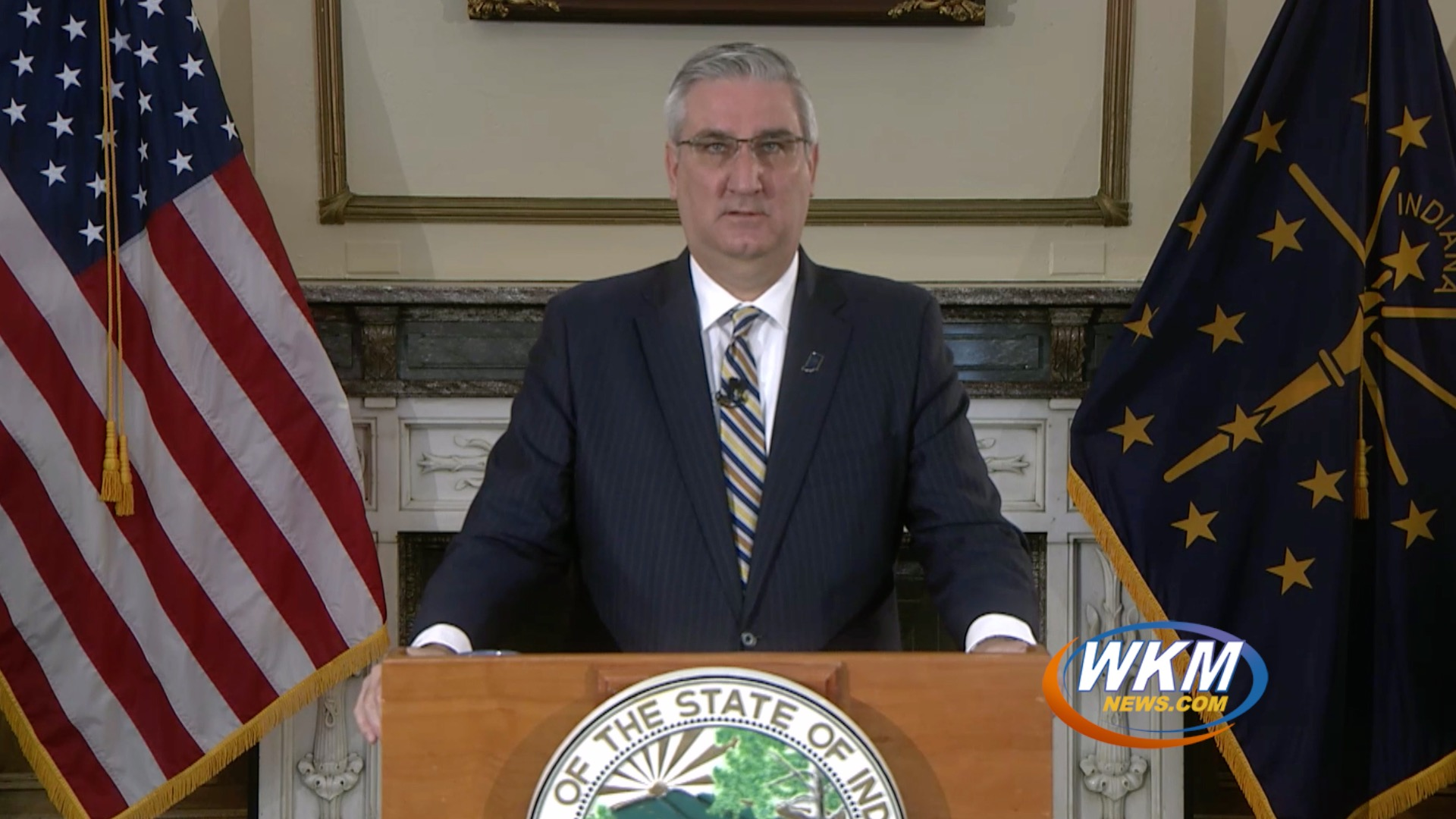 Governor Holcomb Issues Stay-At-Home Order for Indiana