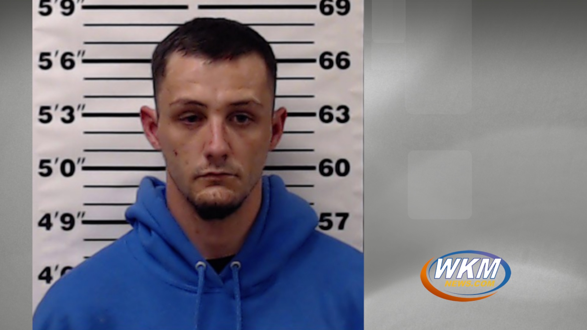 Man Arrested on Trespassing and Drug Charges During Traffic Stop