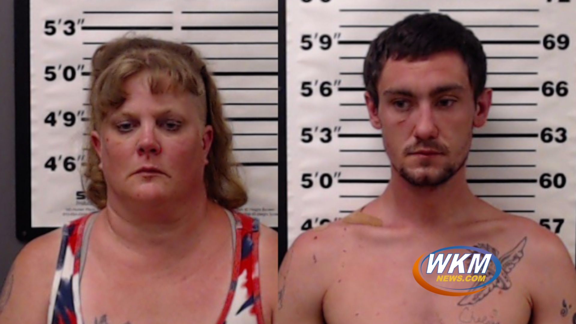 Two Arrested on Burglary and Drug Related Charges