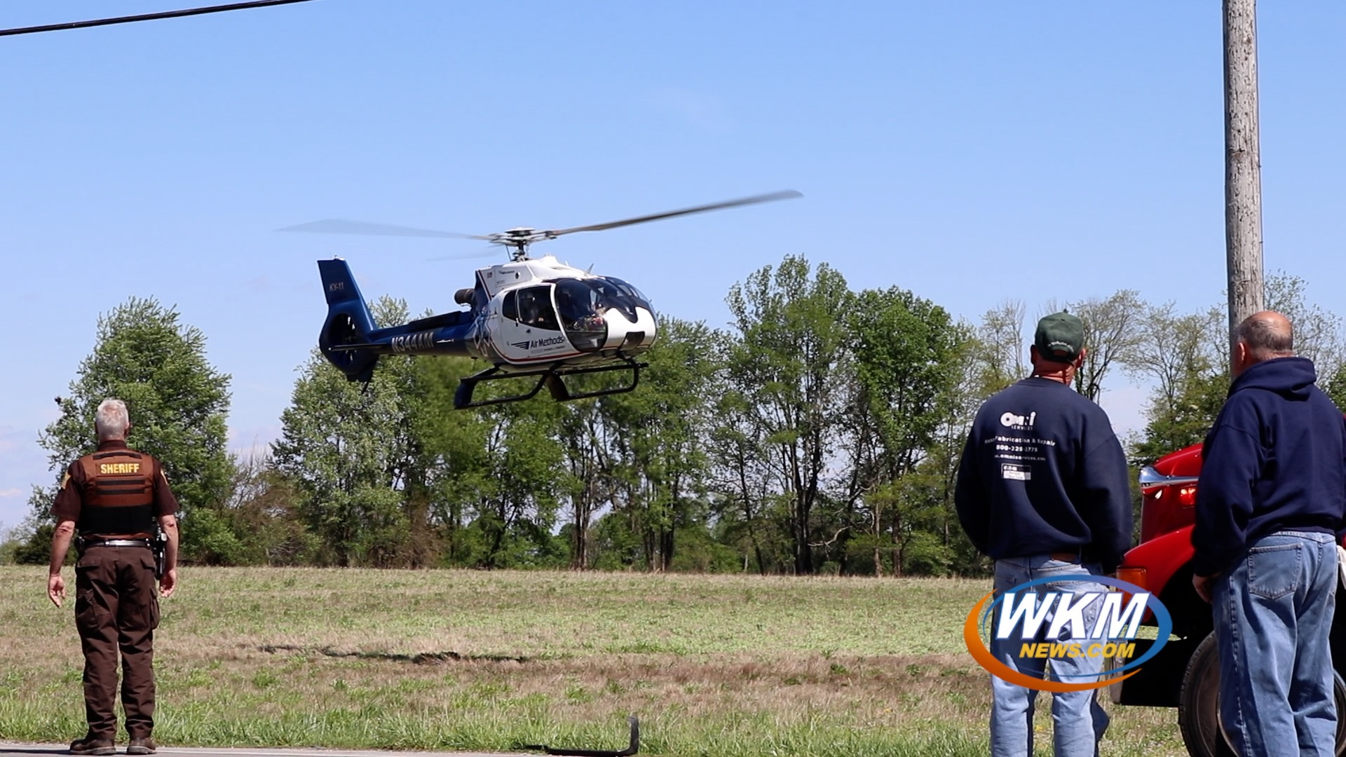 Motorcycle Rider Flown to Trauma Center After Crash with Truck