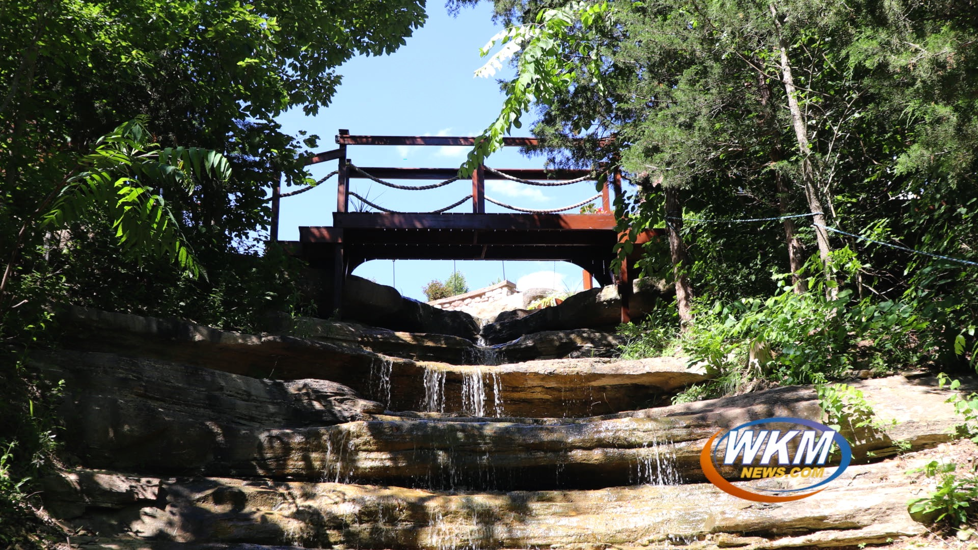 Madison Family Transforms Backyard Into Beautiful Waterfall
