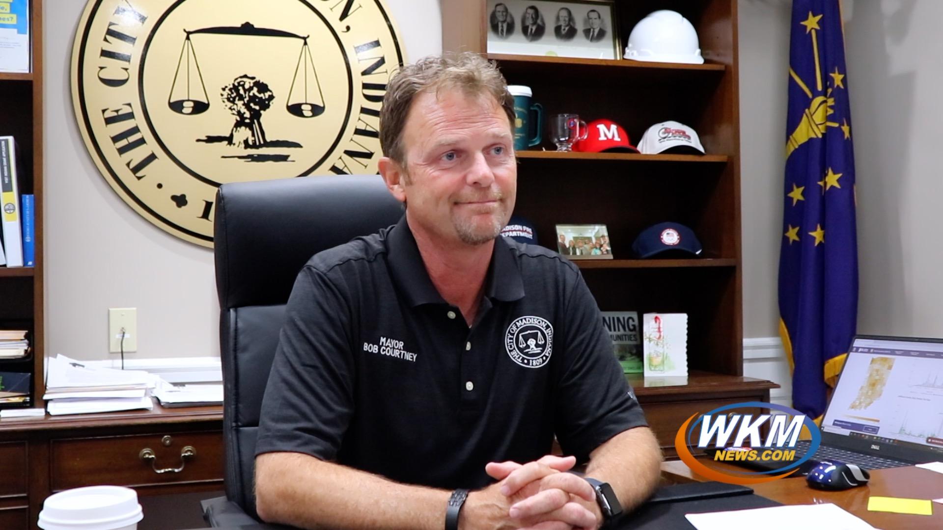Mayor Bob Courtney Discusses Free COVID-19 Testing and Mandatory Mask Order